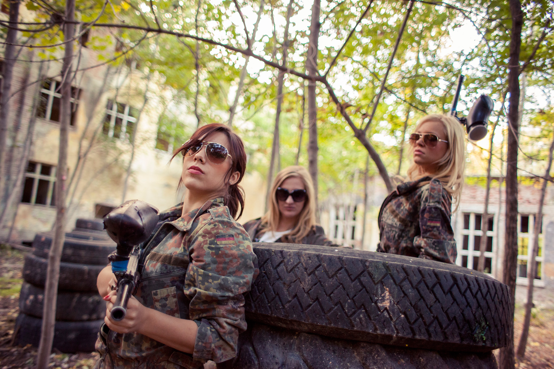 Athens activities | Paintball