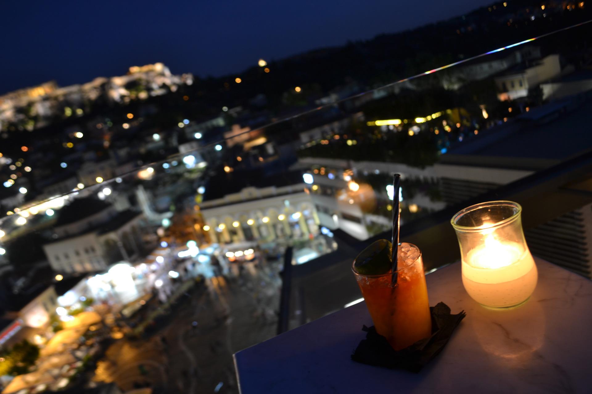 Athens Rooftop Bar Crawl