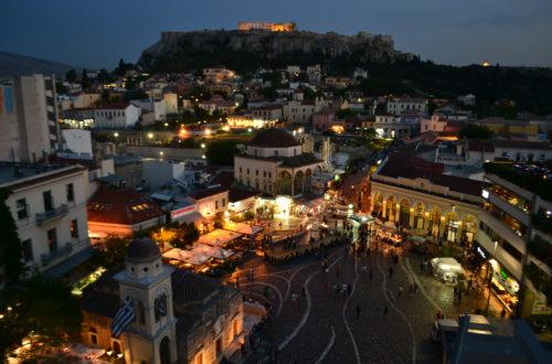 Rooftop Bar Crawl Athens