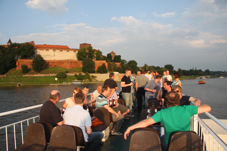 Krakow party boat