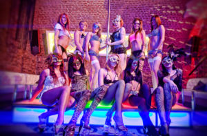 Krakow strip club entry