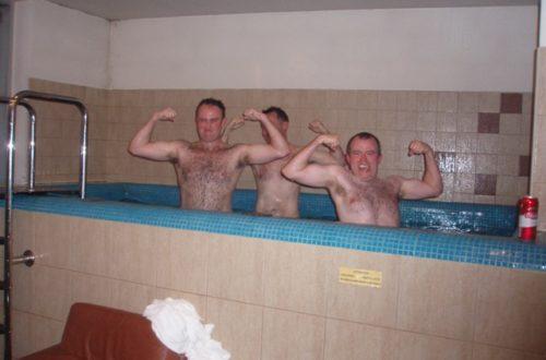Sauna Party in Riga