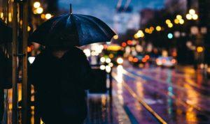 Raining in the UK